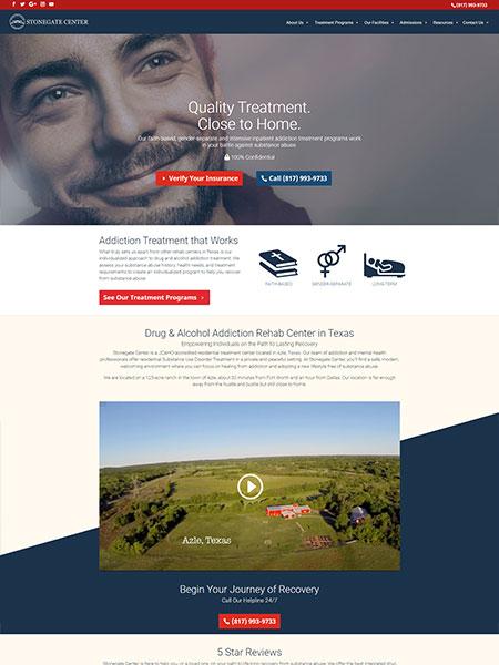 Maxeemize Online Marketing - Stonegate Center Website Design
